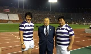 森喜朗・日本ラグビーフットボール協会会長