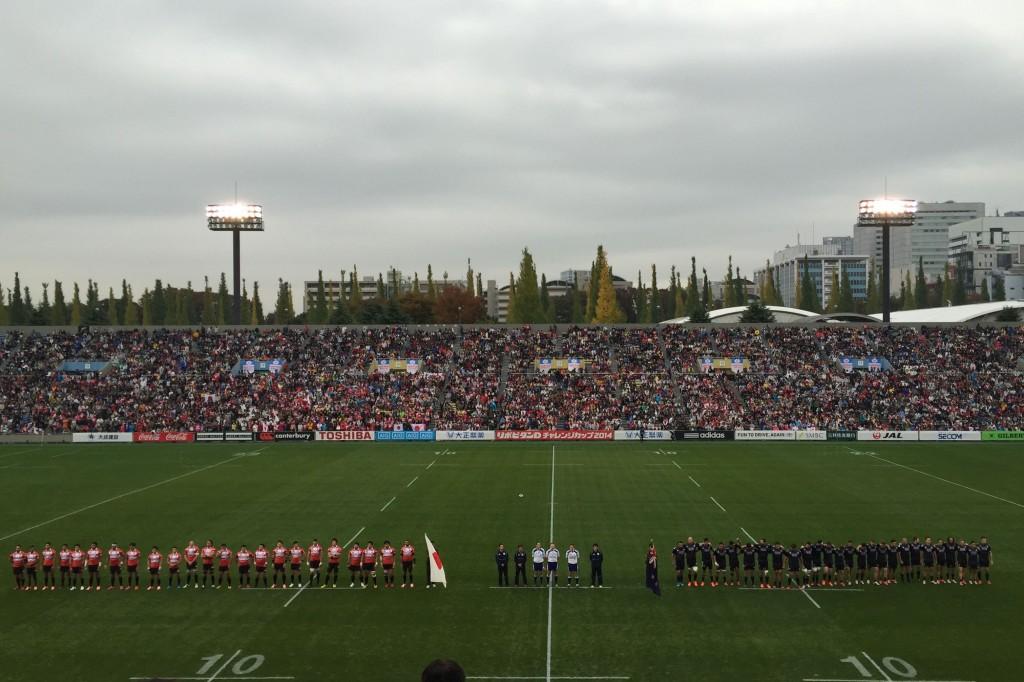 日本代表 vs マオリオールブラックス